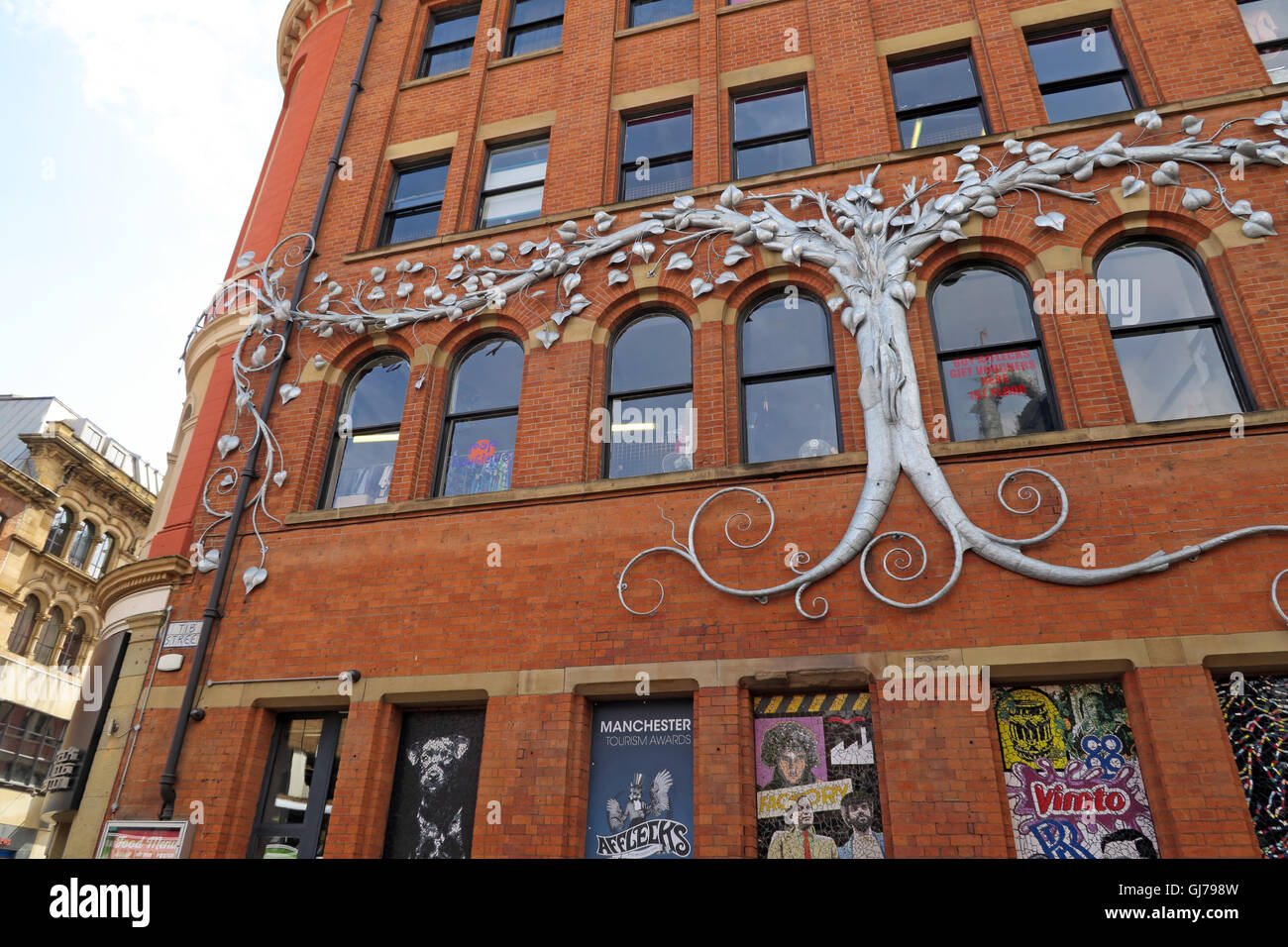 Afflecks Palace Manchester - Alternative fashion emporium - Stock Image