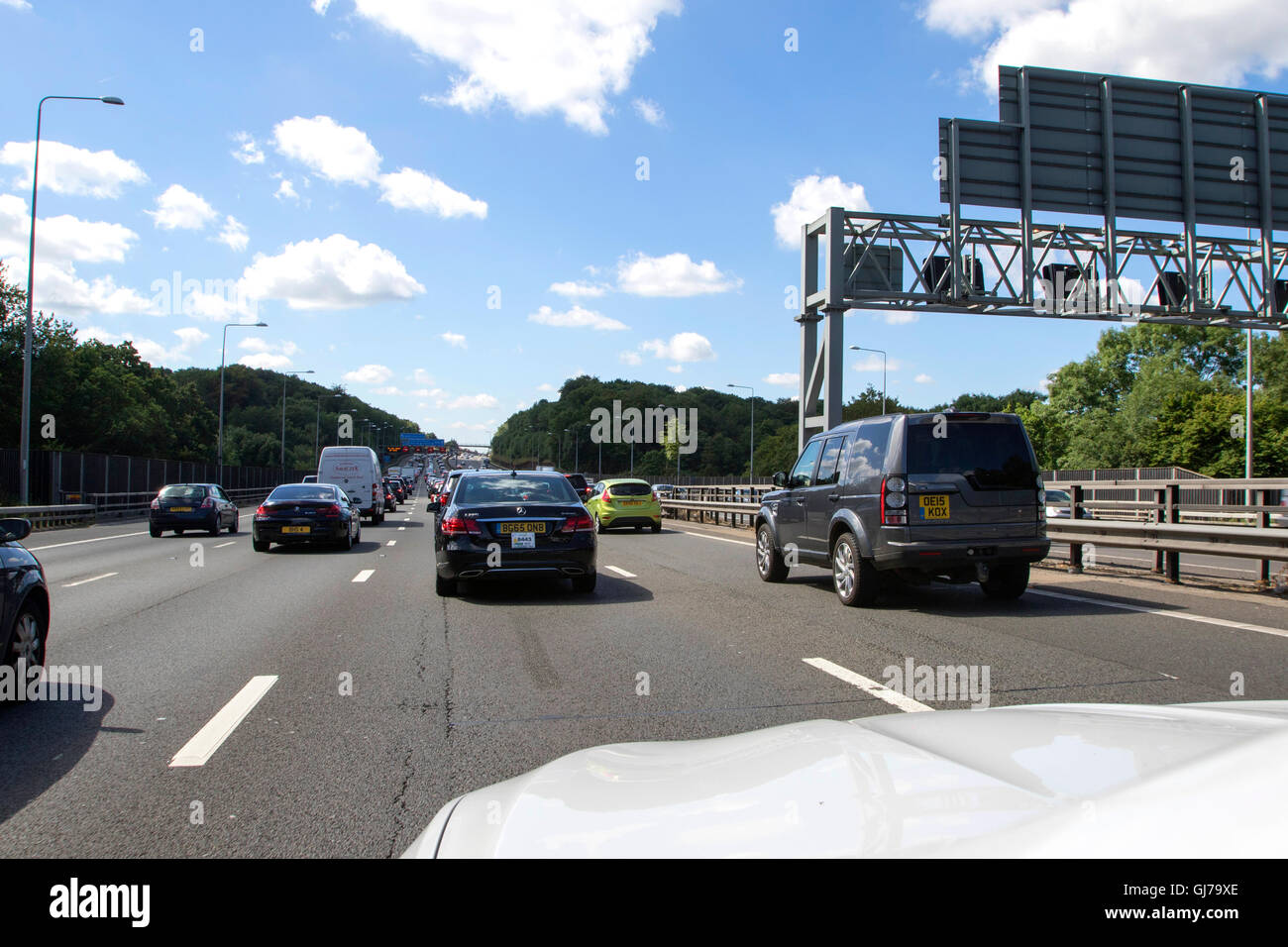M25 Junction Stock Photos & M25 Junction Stock Images - Page