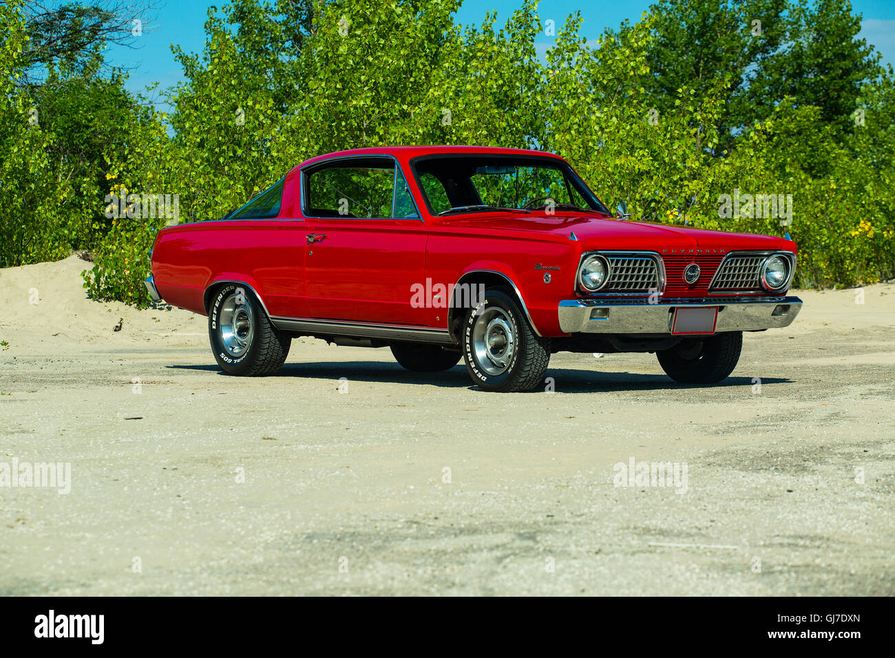 1966 Plymouth Barracuda Formula S - Stock Image