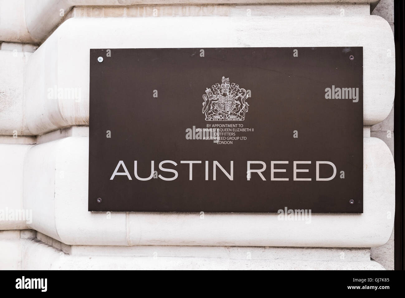 Austin Reed Regent S Street London England U K Stock Photo Alamy