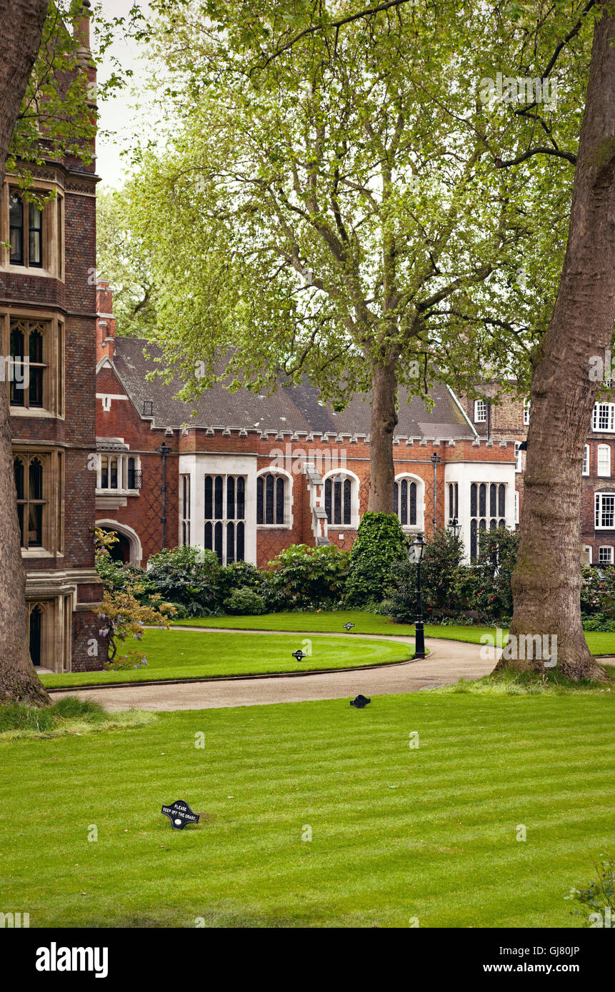 Inns of court, law, tradition, lawyer, house - Stock Image