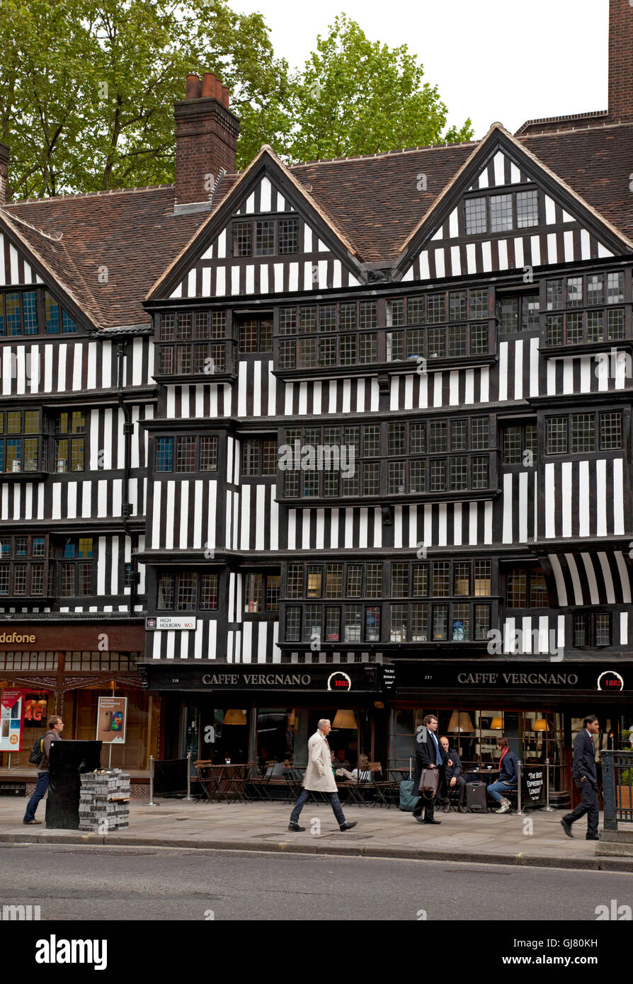 Inns of court, house, architecture, half-timbered - Stock Image