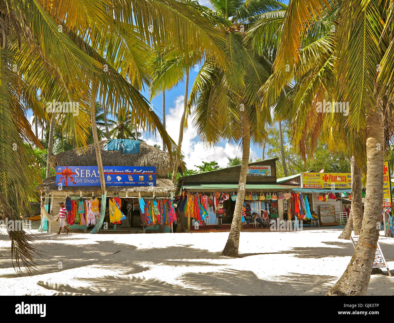 The Dominican Republic The Caribbean Playa Bavaro Punta Cana Stock Photo Alamy