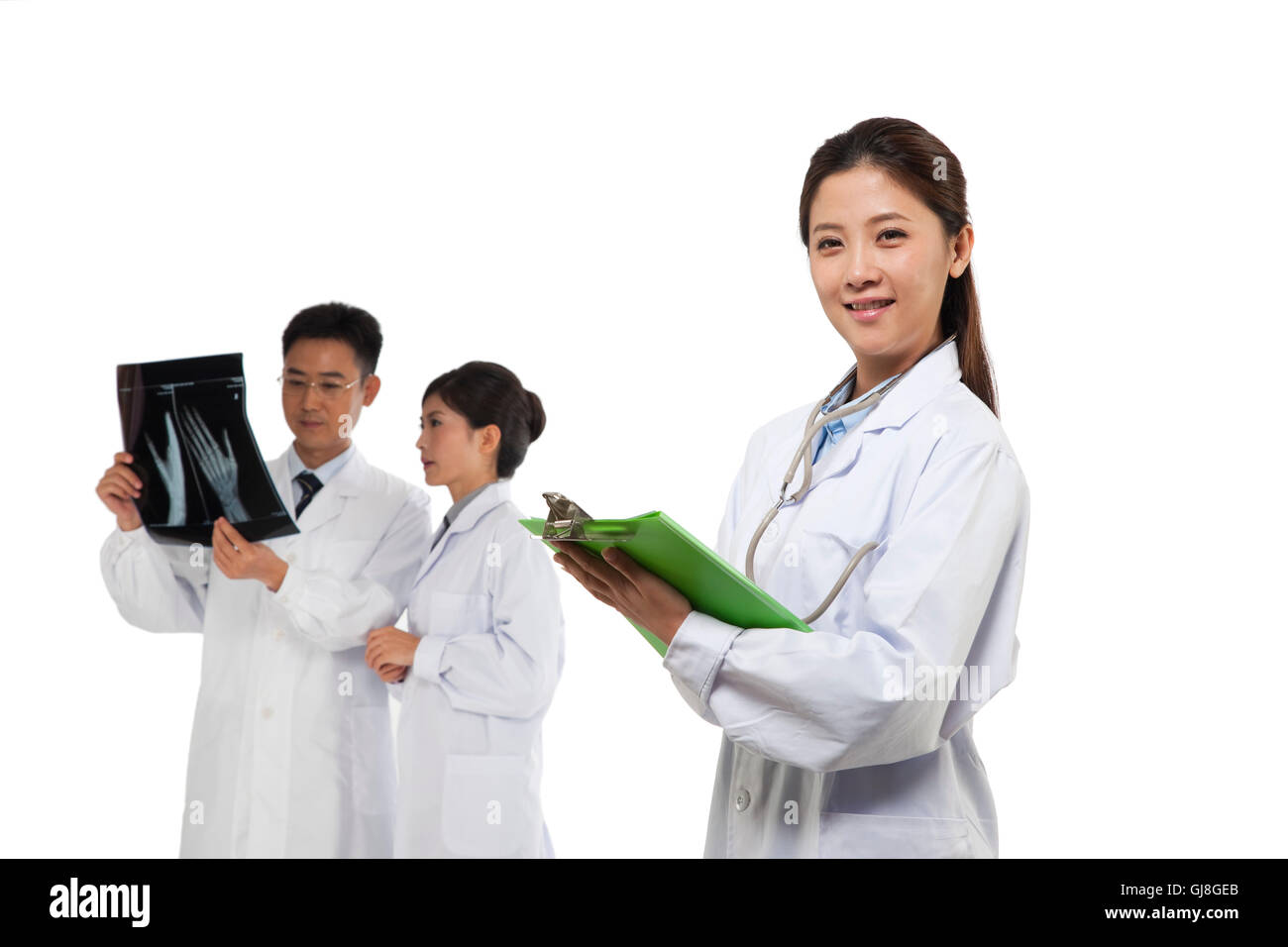 Professionals - Stock Image