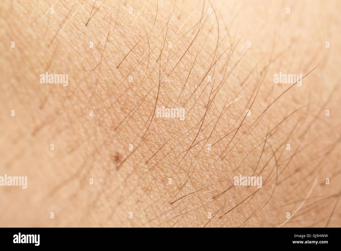 Male Skin closeup - Stock Image