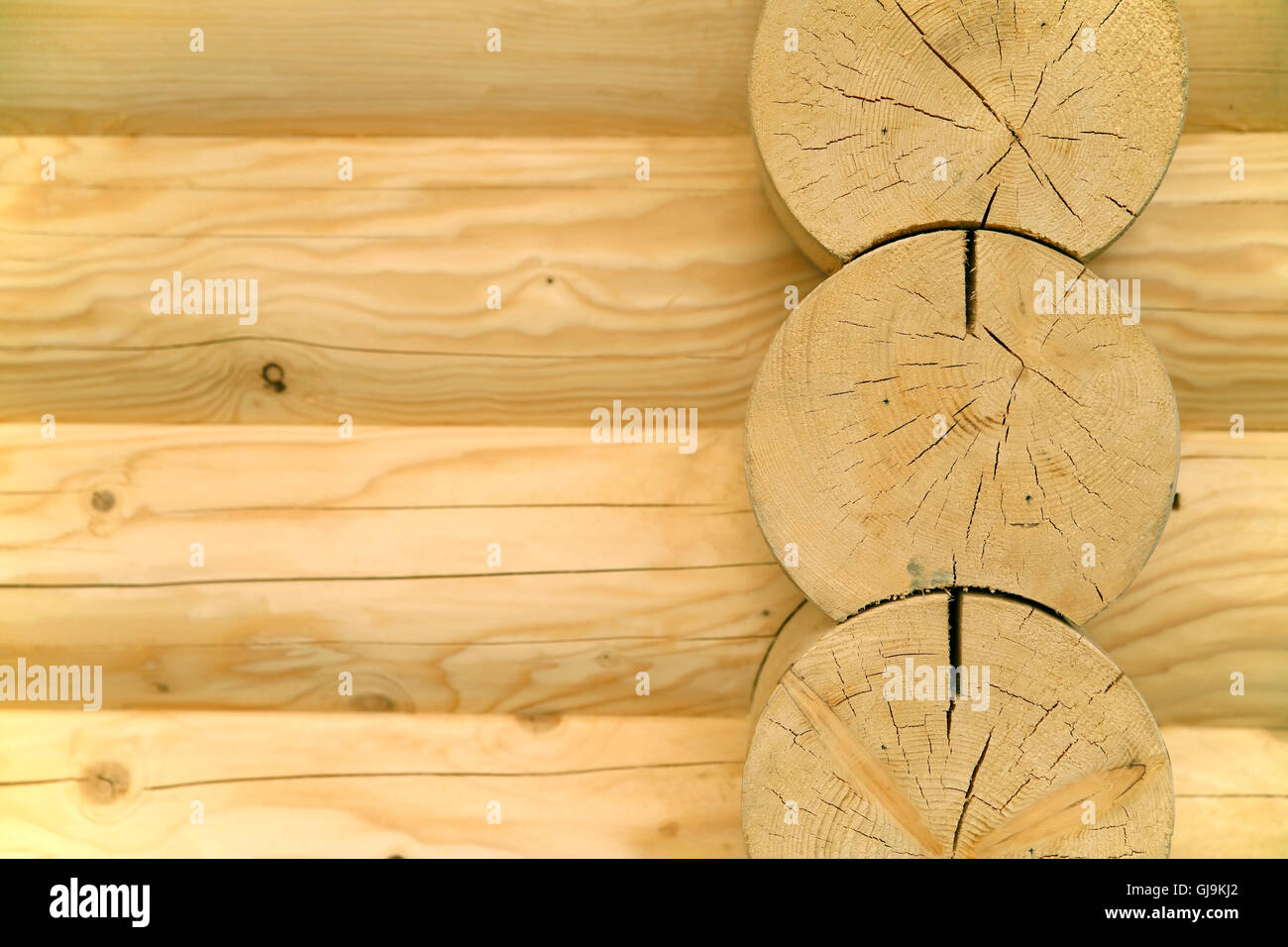 wooden abstract - Stock Image