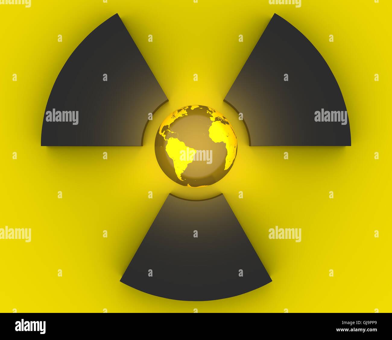 Radioactivity Symbol Stock Photo 114541457 Alamy