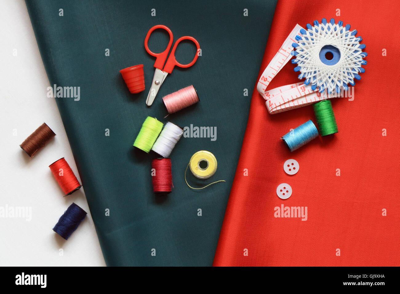 Sewing Item - Stock Image
