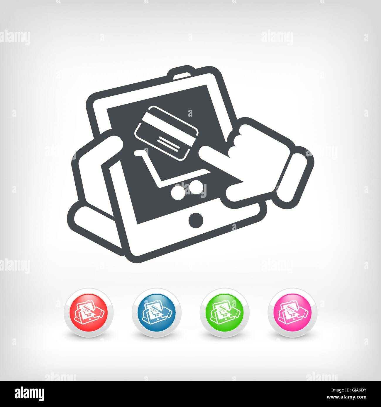 Credit Web Browser Stock Vector Images - Page 2 - Alamy