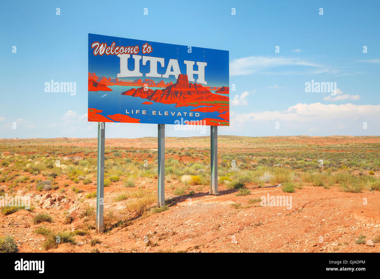 Utah State Travel Map