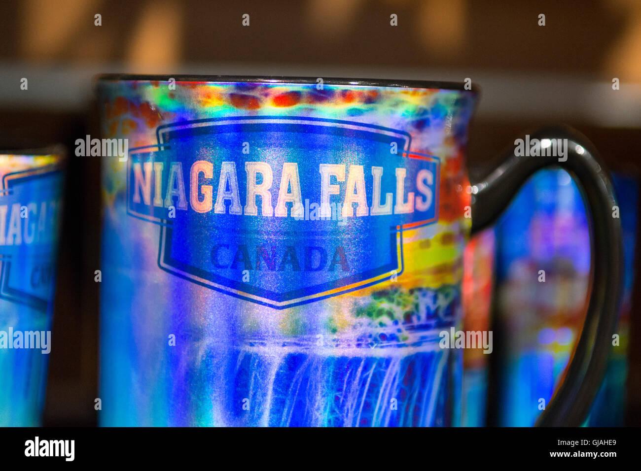 Niagara Falls souvenirs - Stock Image