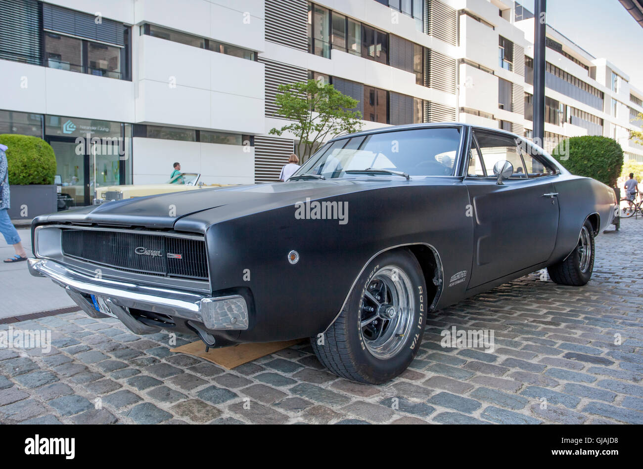 Historic Dodge Charger - Stock Image