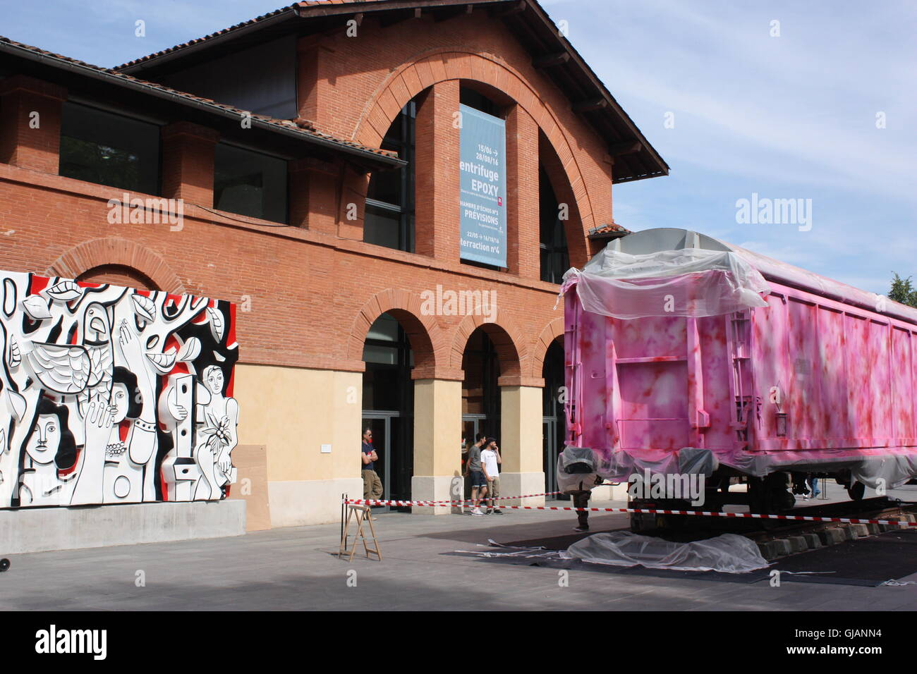 Les Abattoirs Modern Art Museum Toulouse France Stock