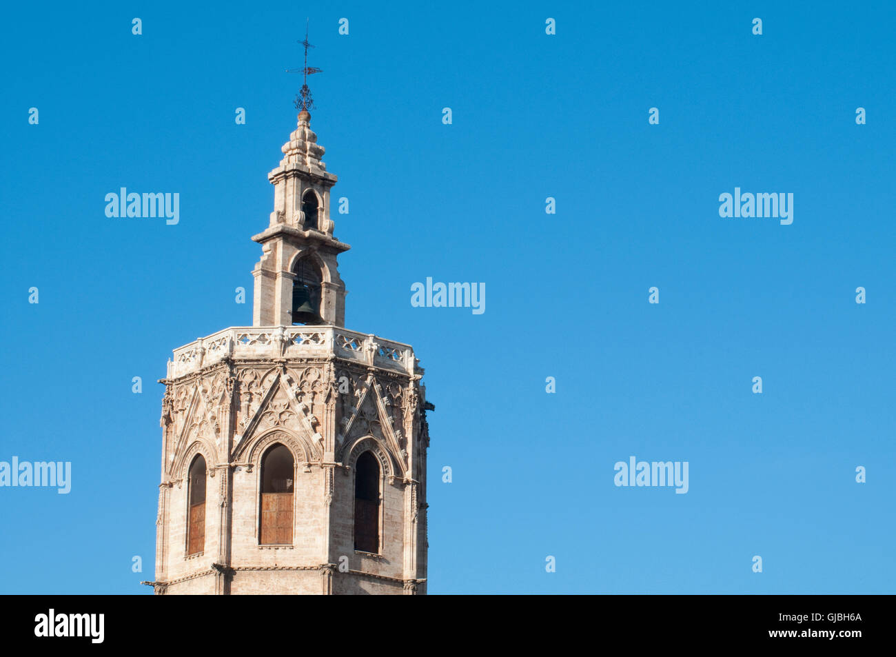 The Micalet. Valencia, Comunidad Valenciana, Spain. Stock Photo