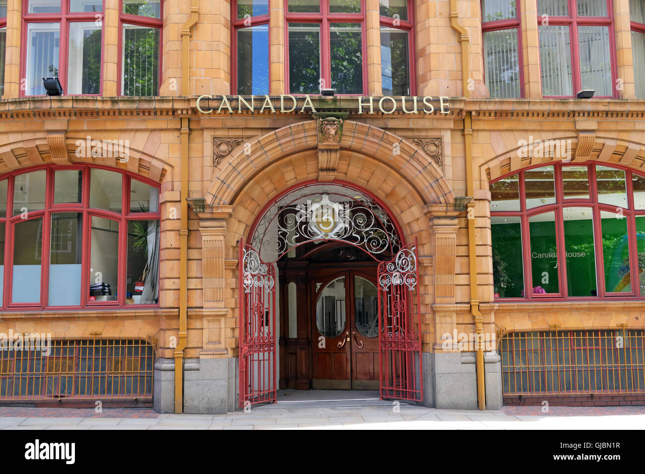 Canada House, 3 Chepstow St, Manchester, North West England, UK,  M1 5FW - Stock Image