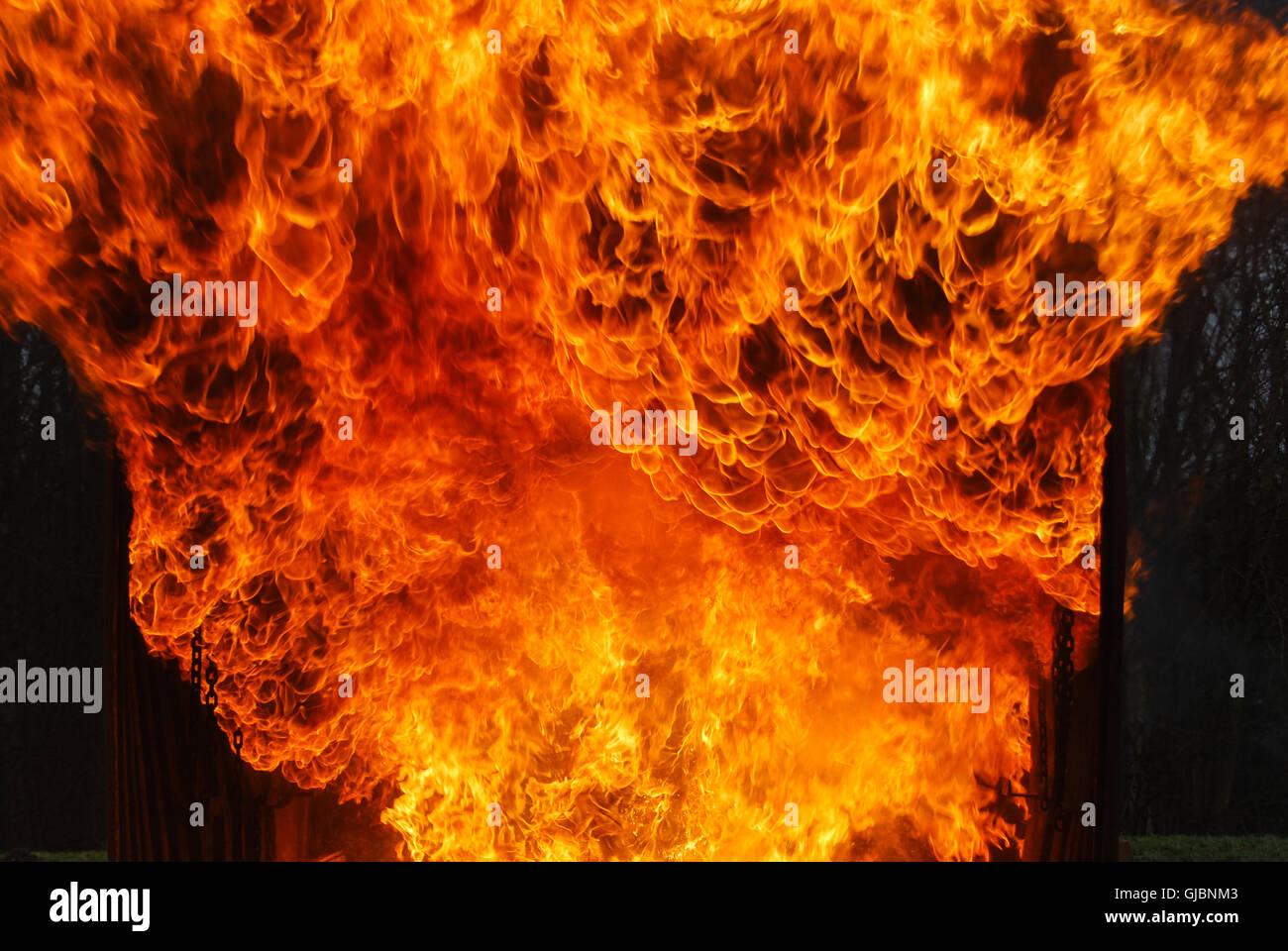Fire, Flames - Stock Image