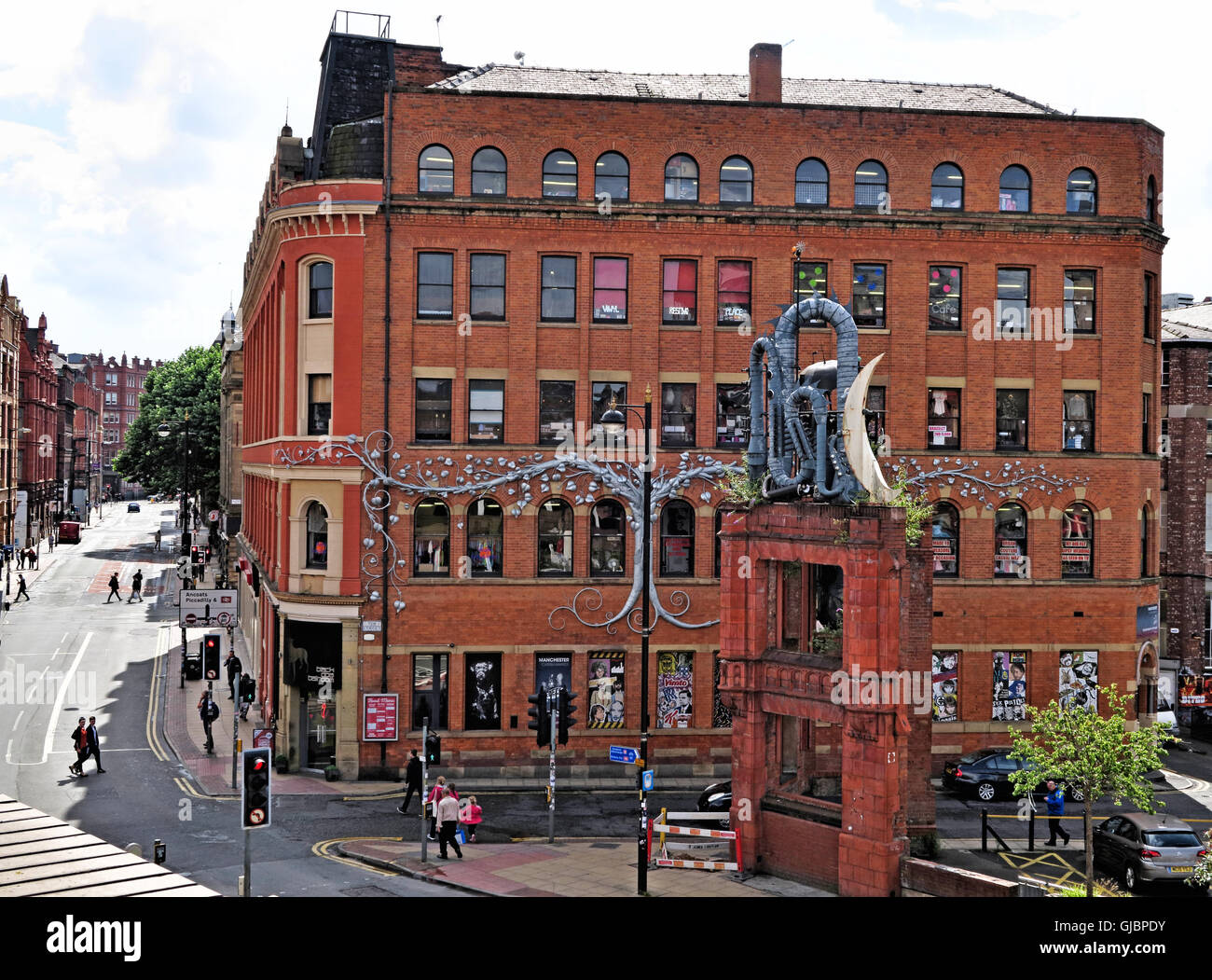 Afflecks Palace, Northern Quarter, Manchester, North West England, UK - Stock Image