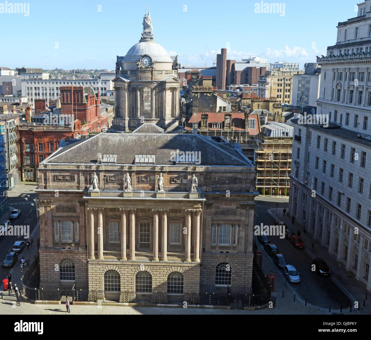 Liverpool Town Hall, High Street, Liverpool, Merseyside, North West England, L2 3SW - Stock Image