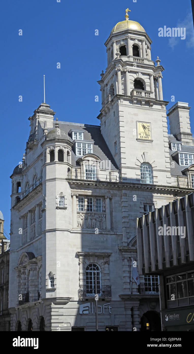 Royal Insurance Building, Dale street / North John St, Liverpool, - Stock Image