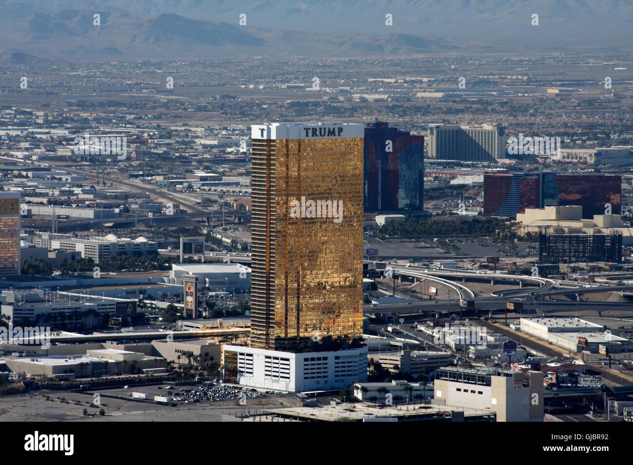 Trump Tower Las Vegas Stock Photos Trump Tower Las Vegas Stock