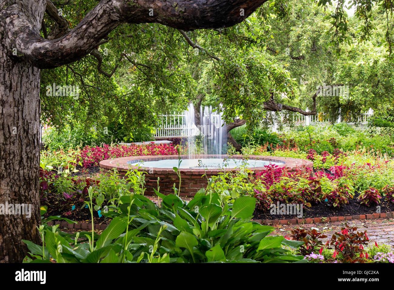 Prescott Park Flower Gardens, Portsmouth, New Hampshire ...