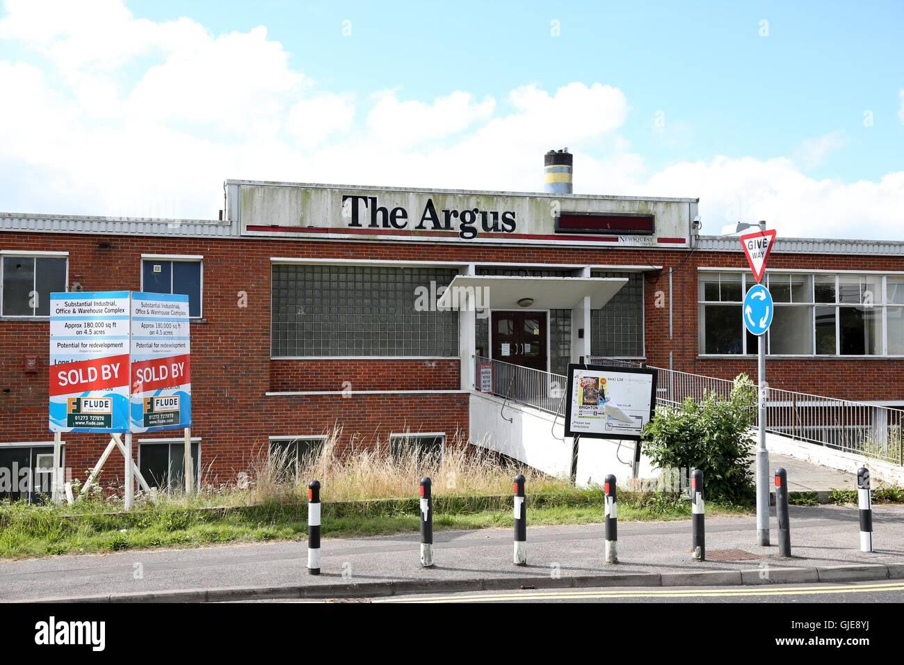 Corner Exhibition Stands Job : Brighton argus stock photos images