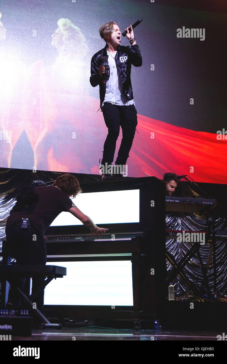 OneRepublic at Key 103 Summer Live. - Stock Image
