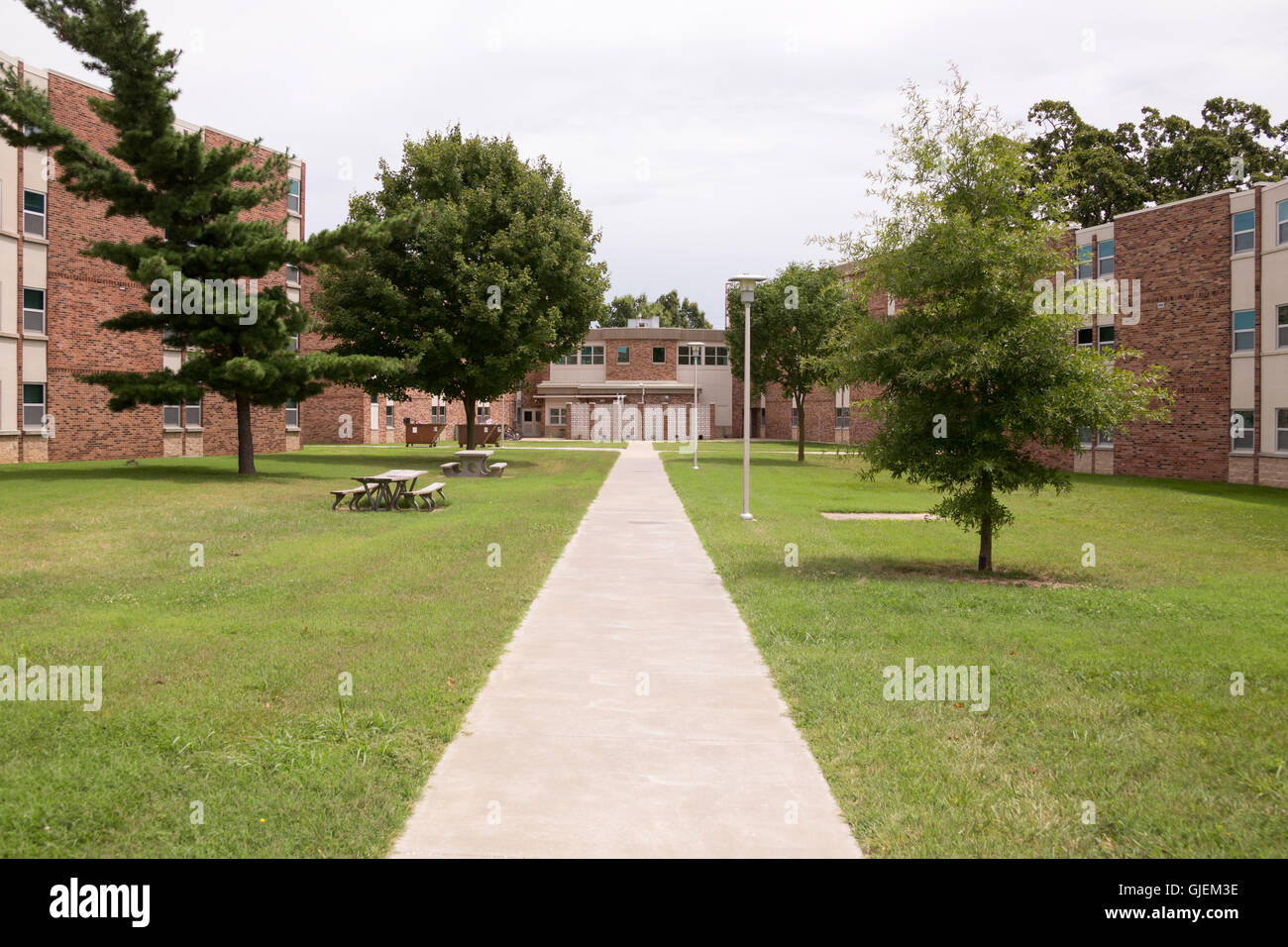 Evangel University, Springfield MO, Assemblies of God Liberal Arts College. Campus images. - Stock Image