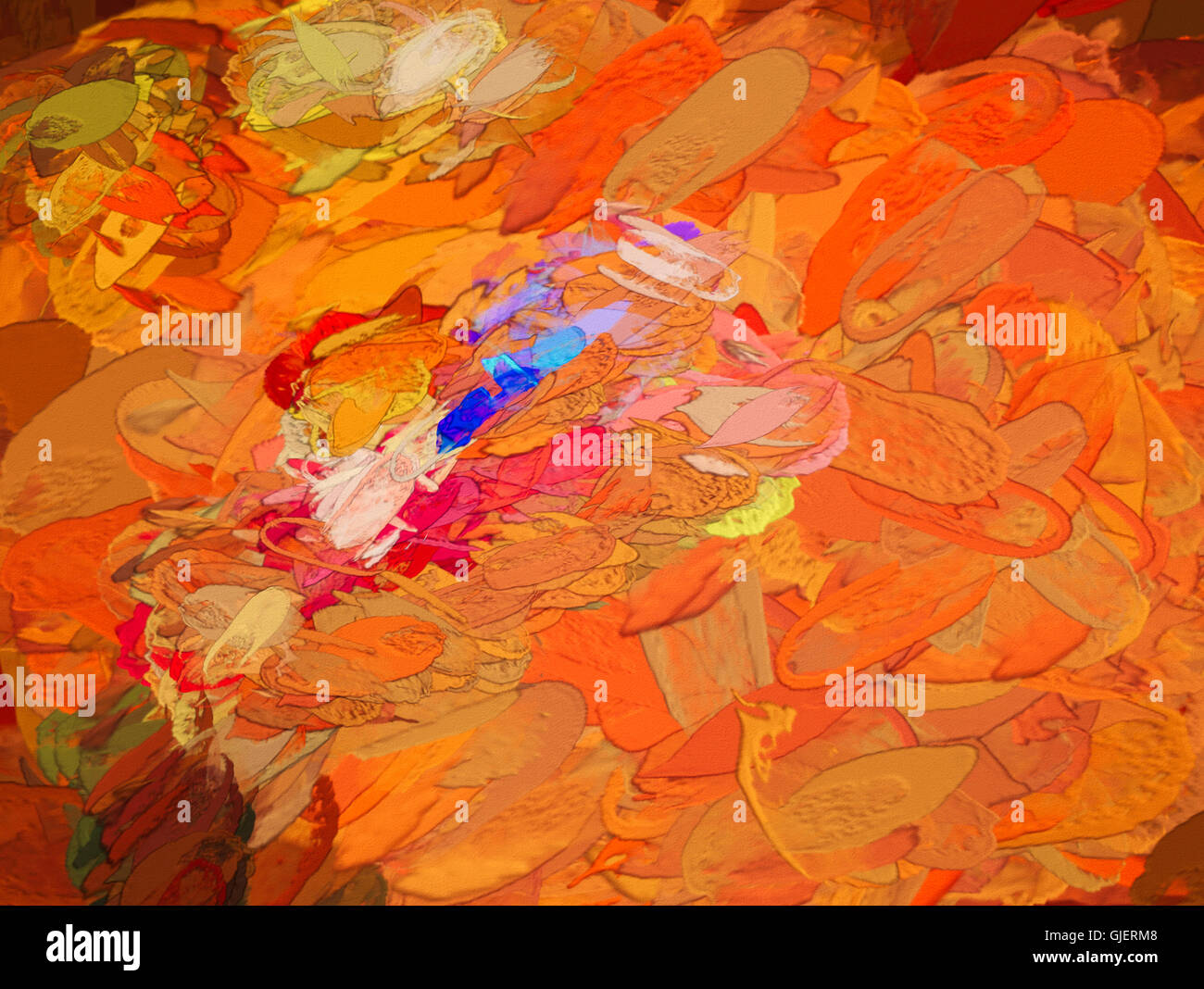 Created Abstract Art