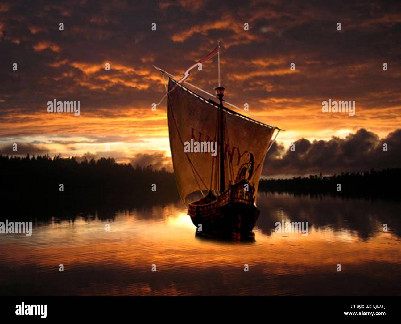 the vikings - Stock Image