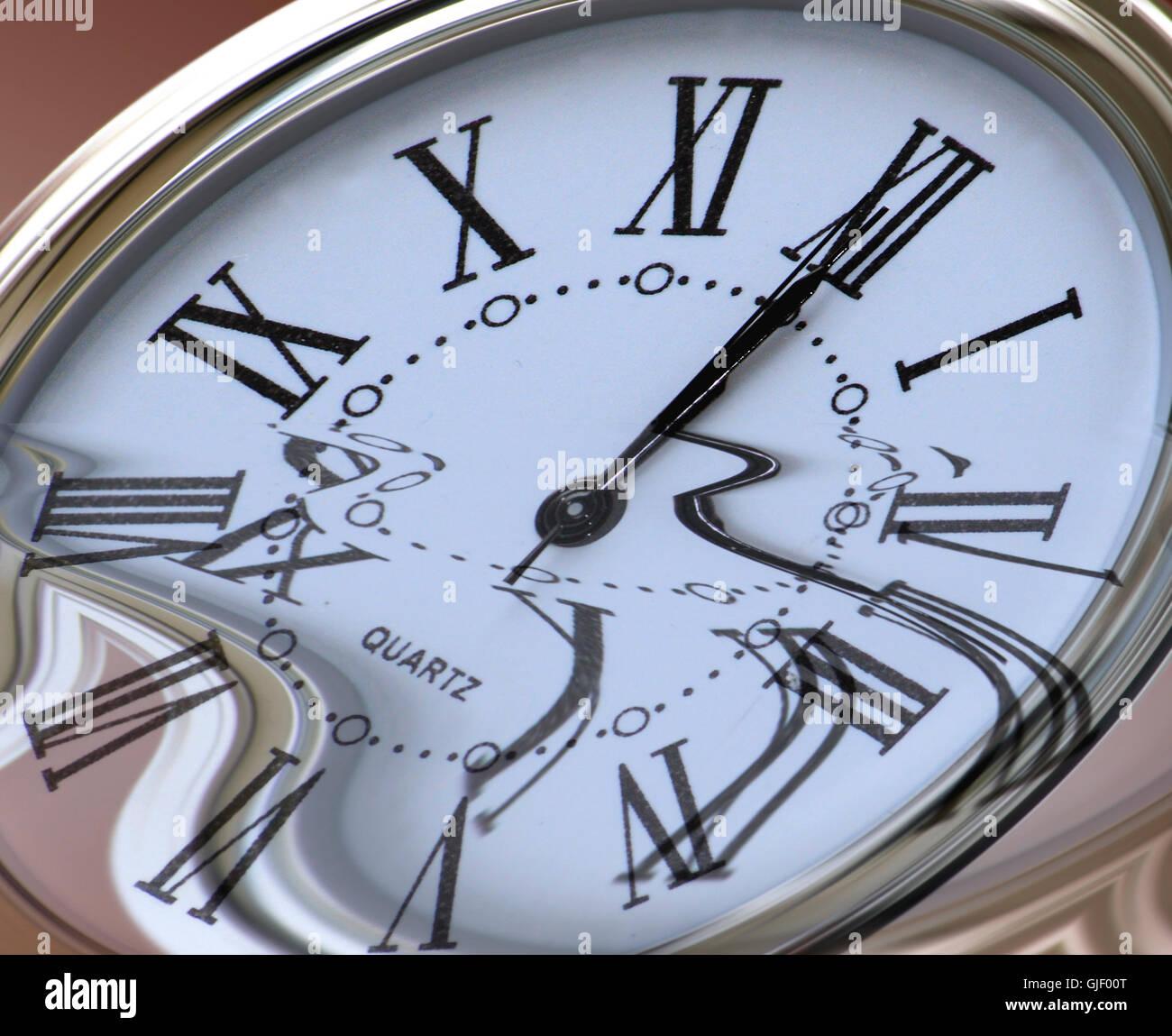 elapsed time - Stock Image