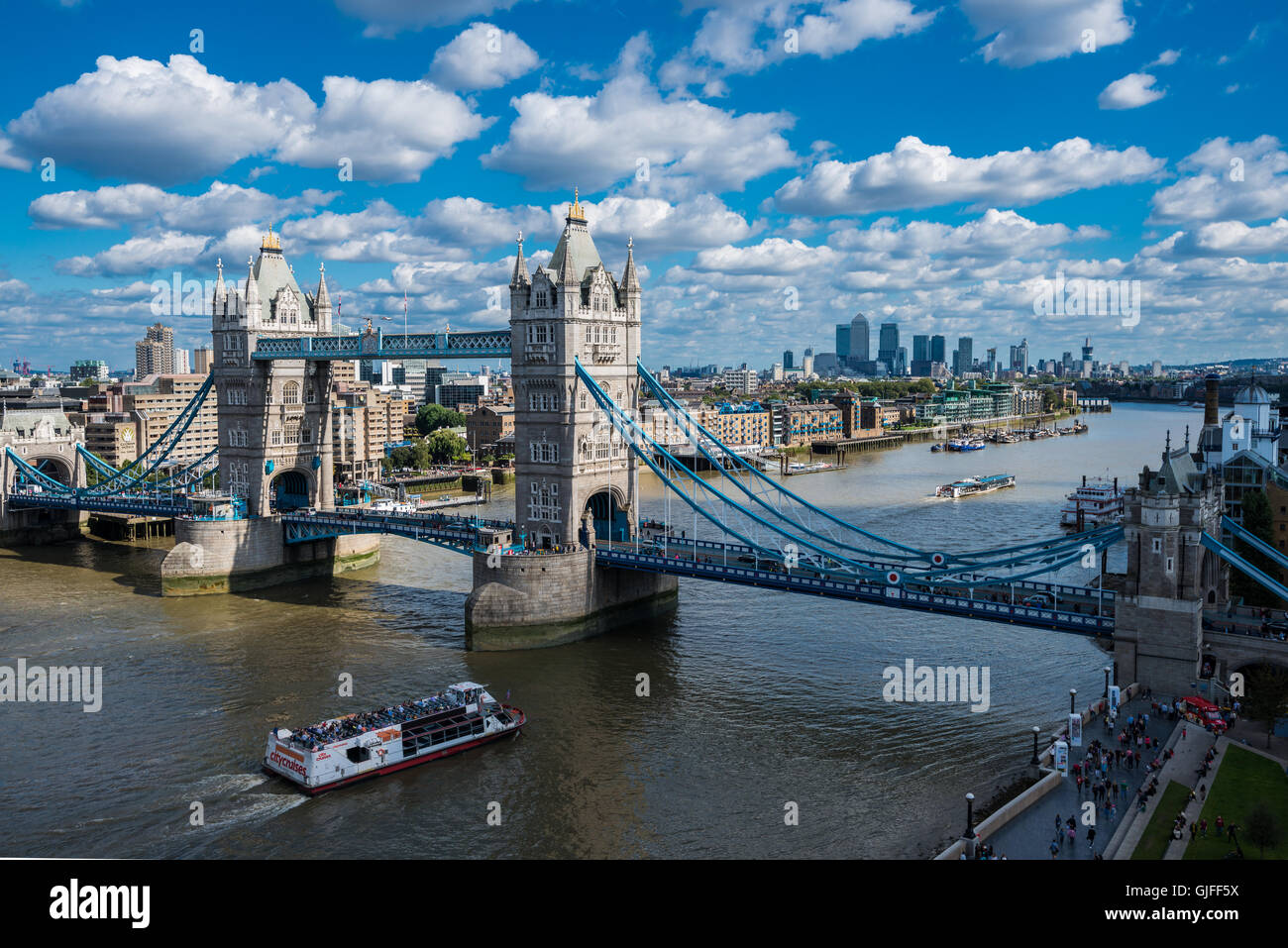 Tower Bridge, London, United Kingdom Stock Photo