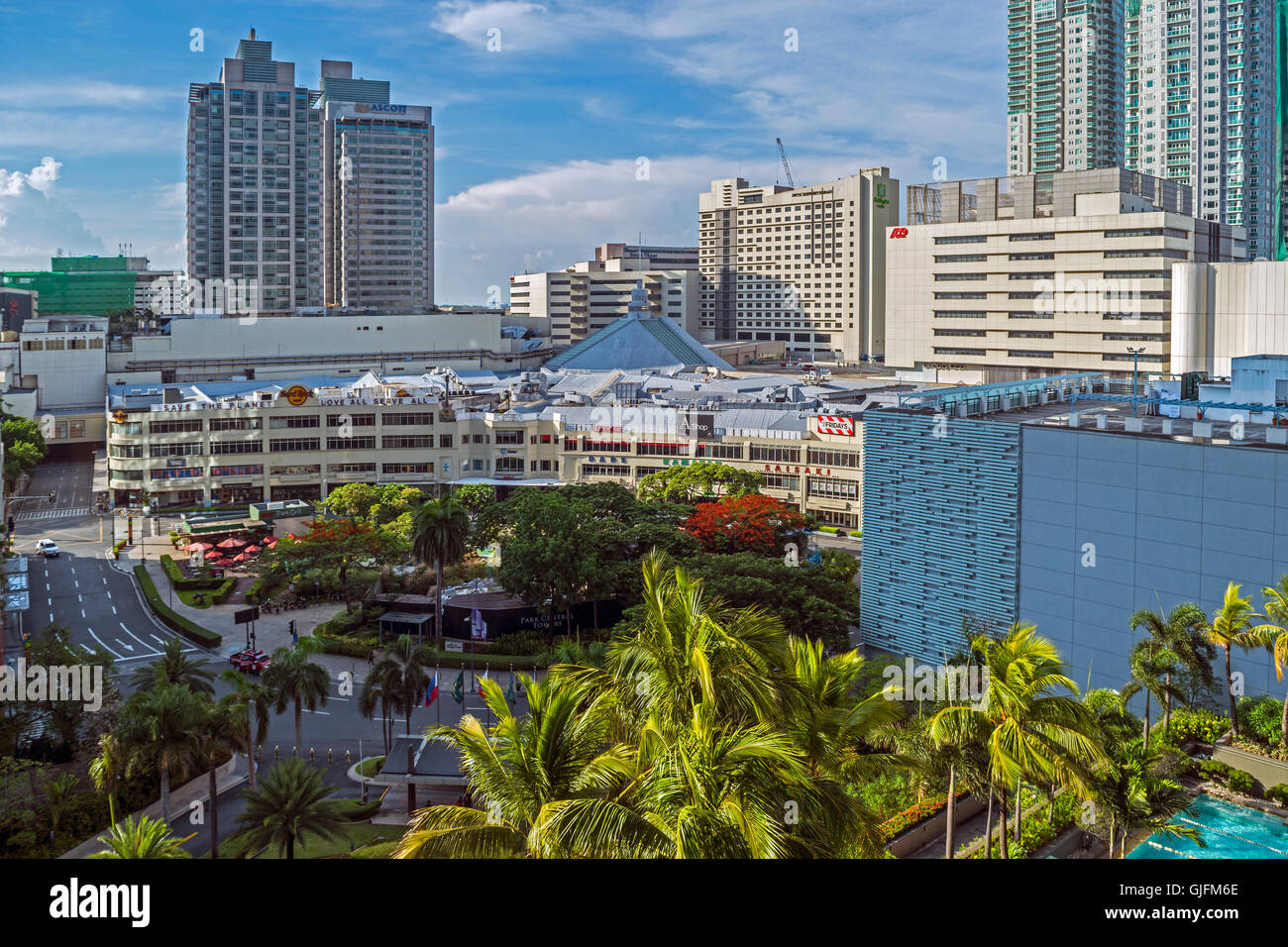 Overview Makati, Metro Manila, The Philippines - Stock Image
