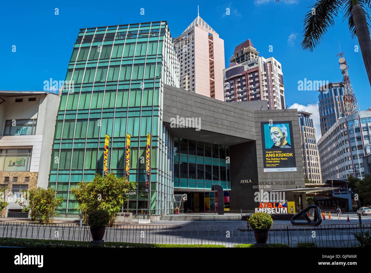 Ayala Museum, Ayala Centre, Makati, Manila, Philippines - Stock Image