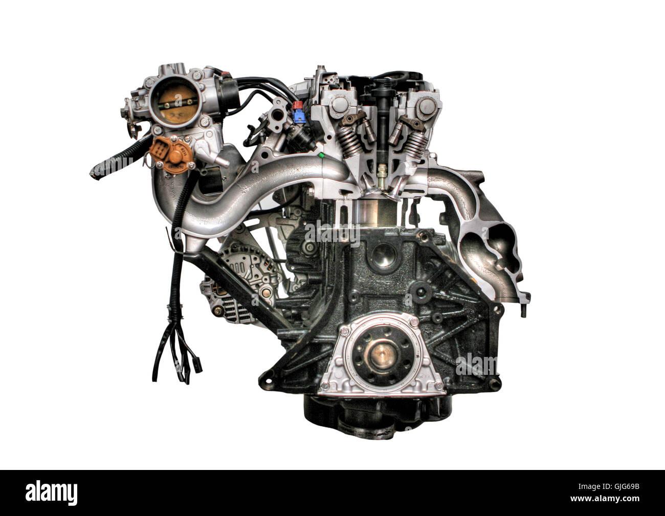 motor power - Stock Image
