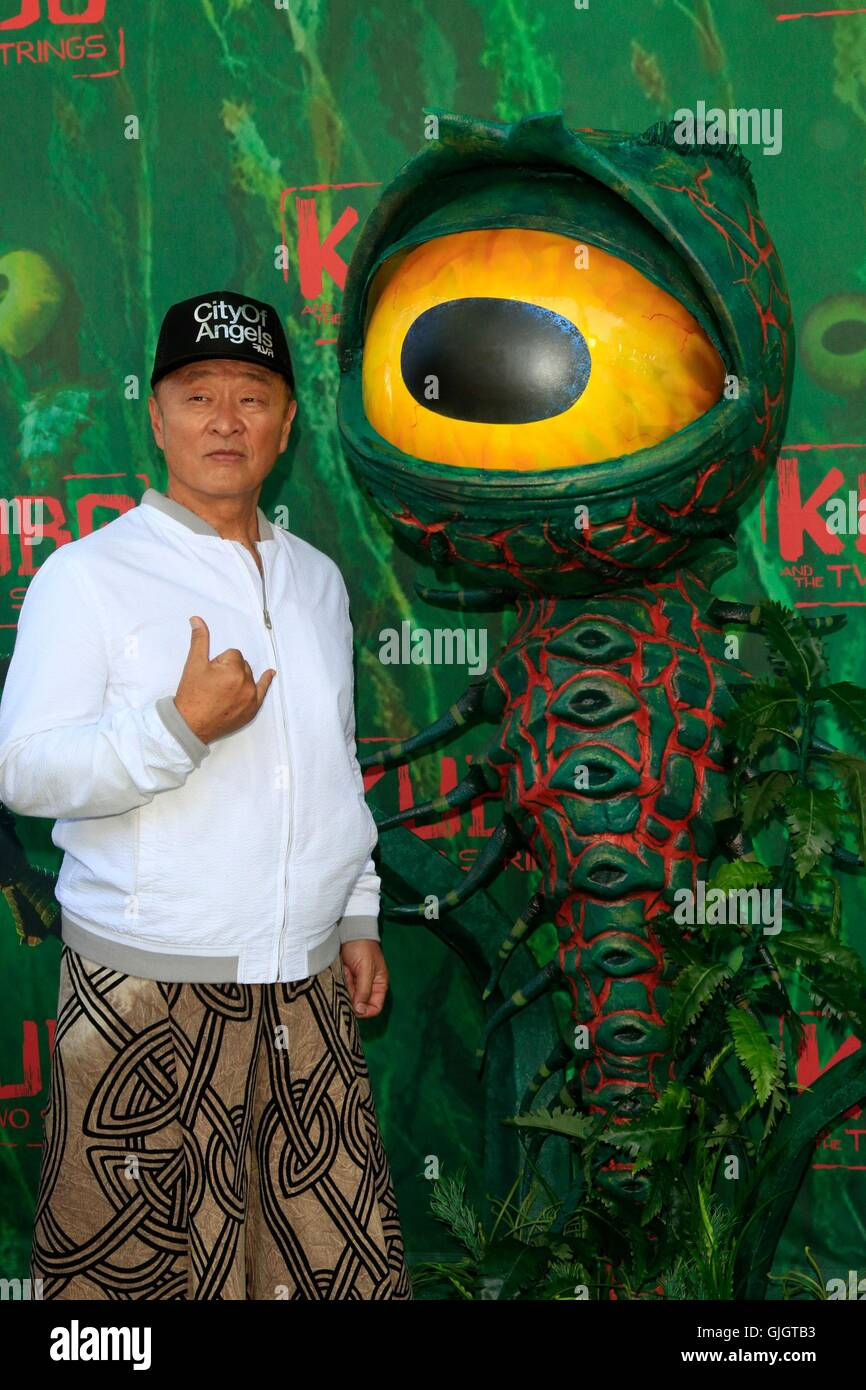 Cary Hiroyuki Tarawa at arrivals for WAR DOGS Premiere, TCL Chinese 6 Theatres (formerly Grauman's), Los Angeles, - Stock Image