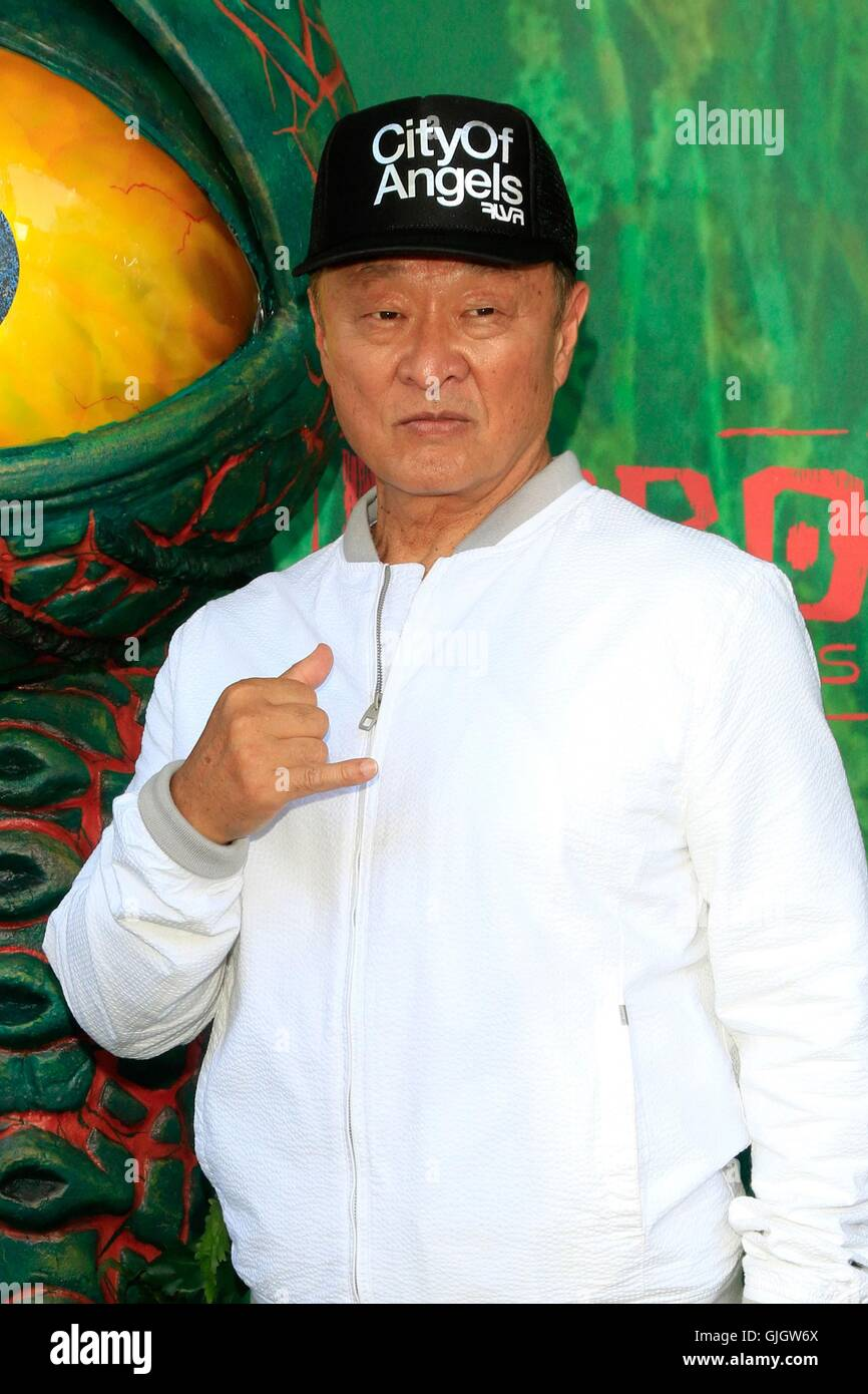 Universal City, CA. 14th Aug, 2016. Cary Hiroyuki Tarawa at arrivals for KUBO AND THE TWO STRINGS Premiere, AMC - Stock Image