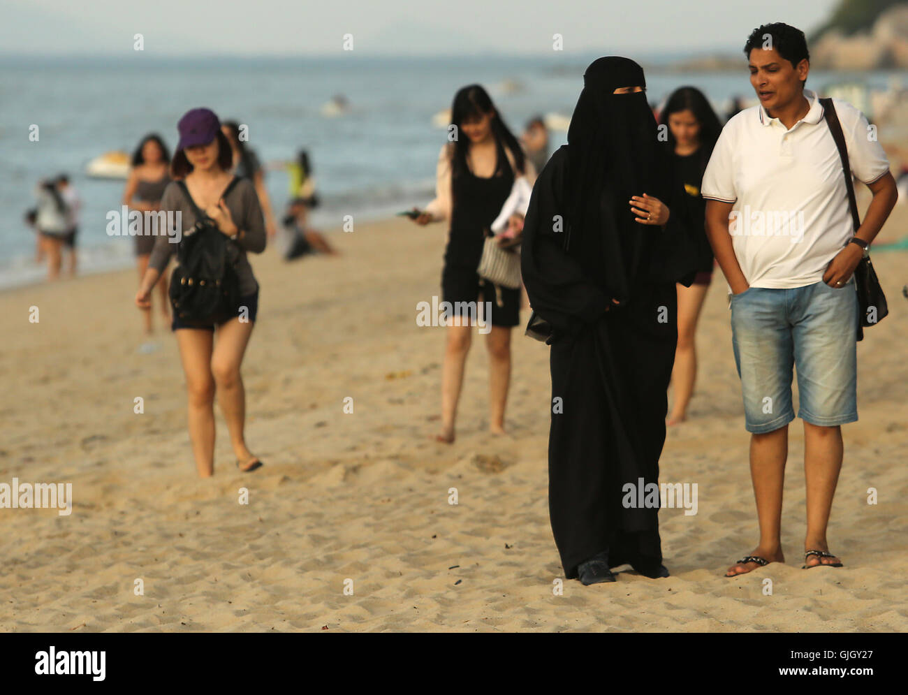 hall beach muslim personals Most notably, participants wear headscarves, there's no swimsuit competition and women's inner character and other islamic values such as charity, piety and intellect are prioritized over looks.