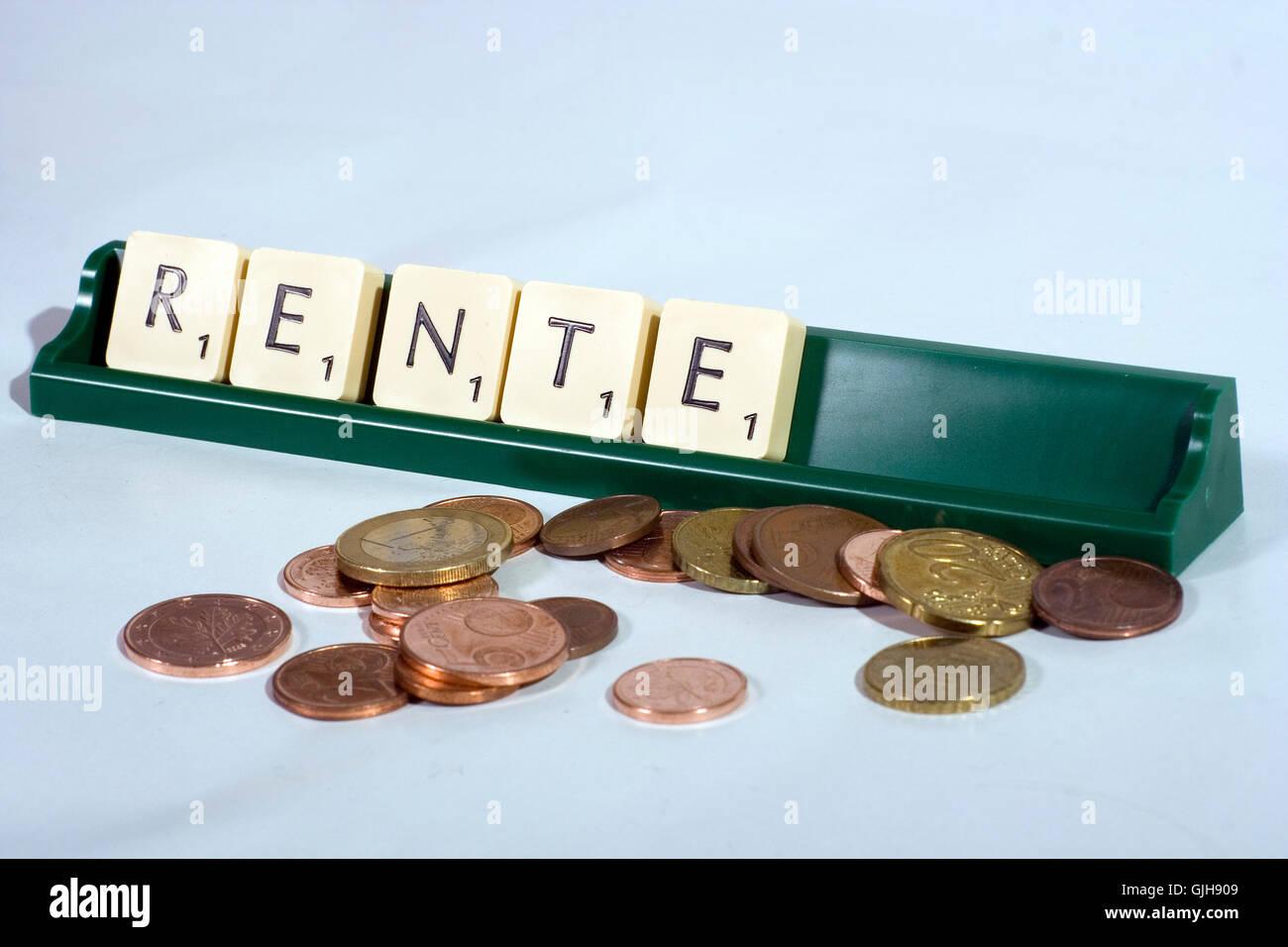 provision retirement arrangement social Stock Photo