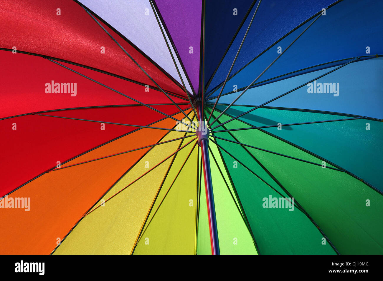 play of colors - Stock Image
