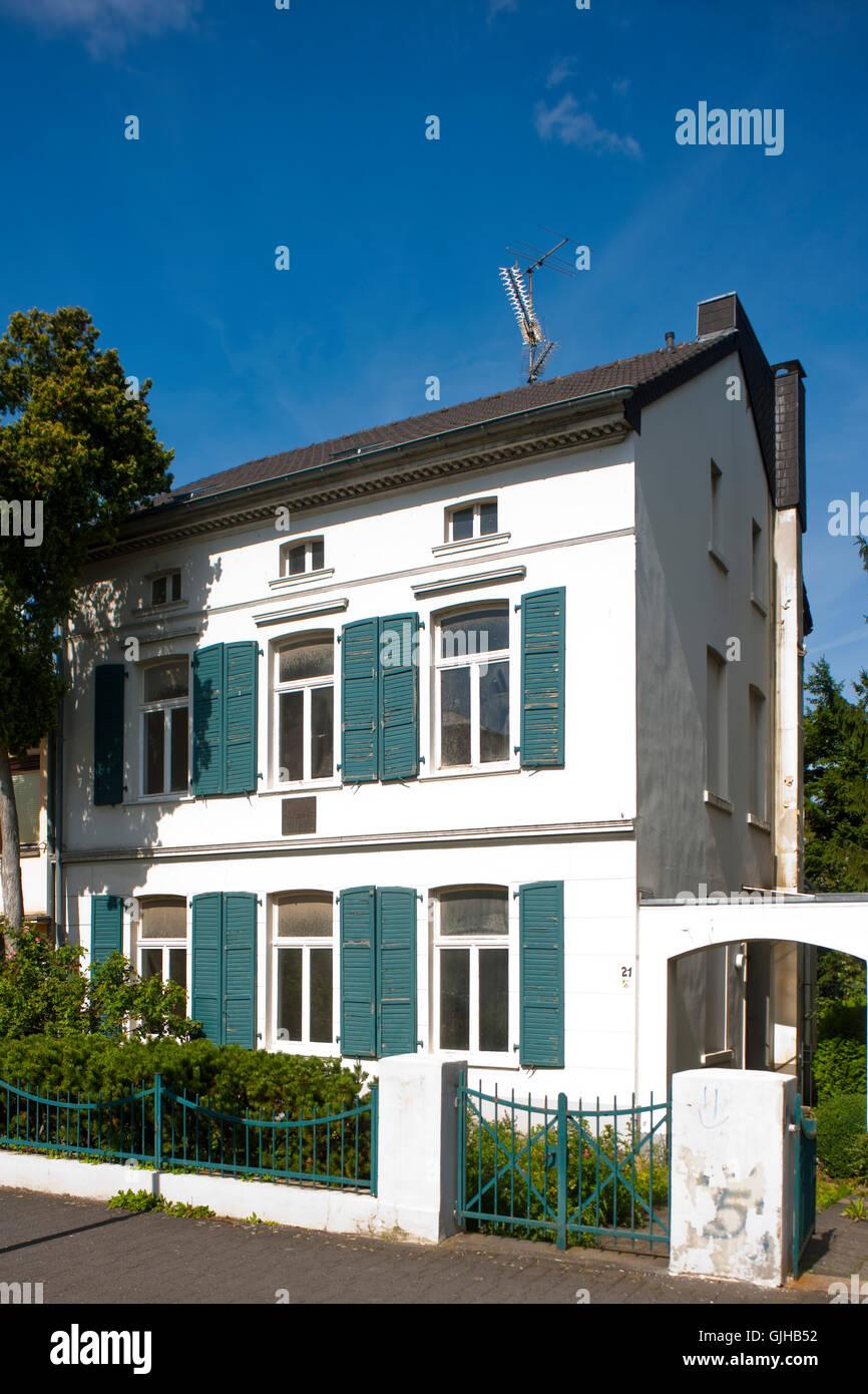 BRD, Deutschland, NRW, Brühl, Geburtshaus von Max Ernst - Stock Image
