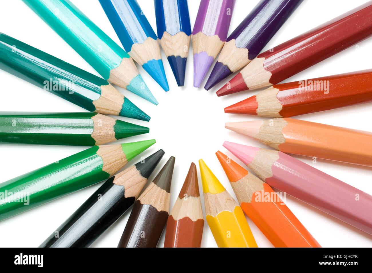 color spectrum - Stock Image