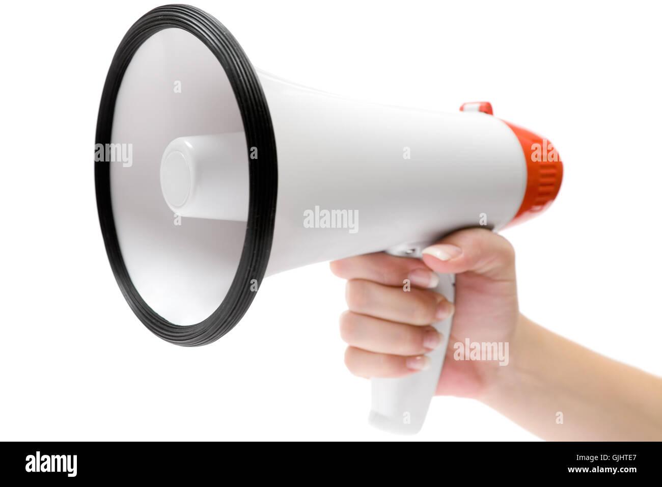 mouthpiece - Stock Image