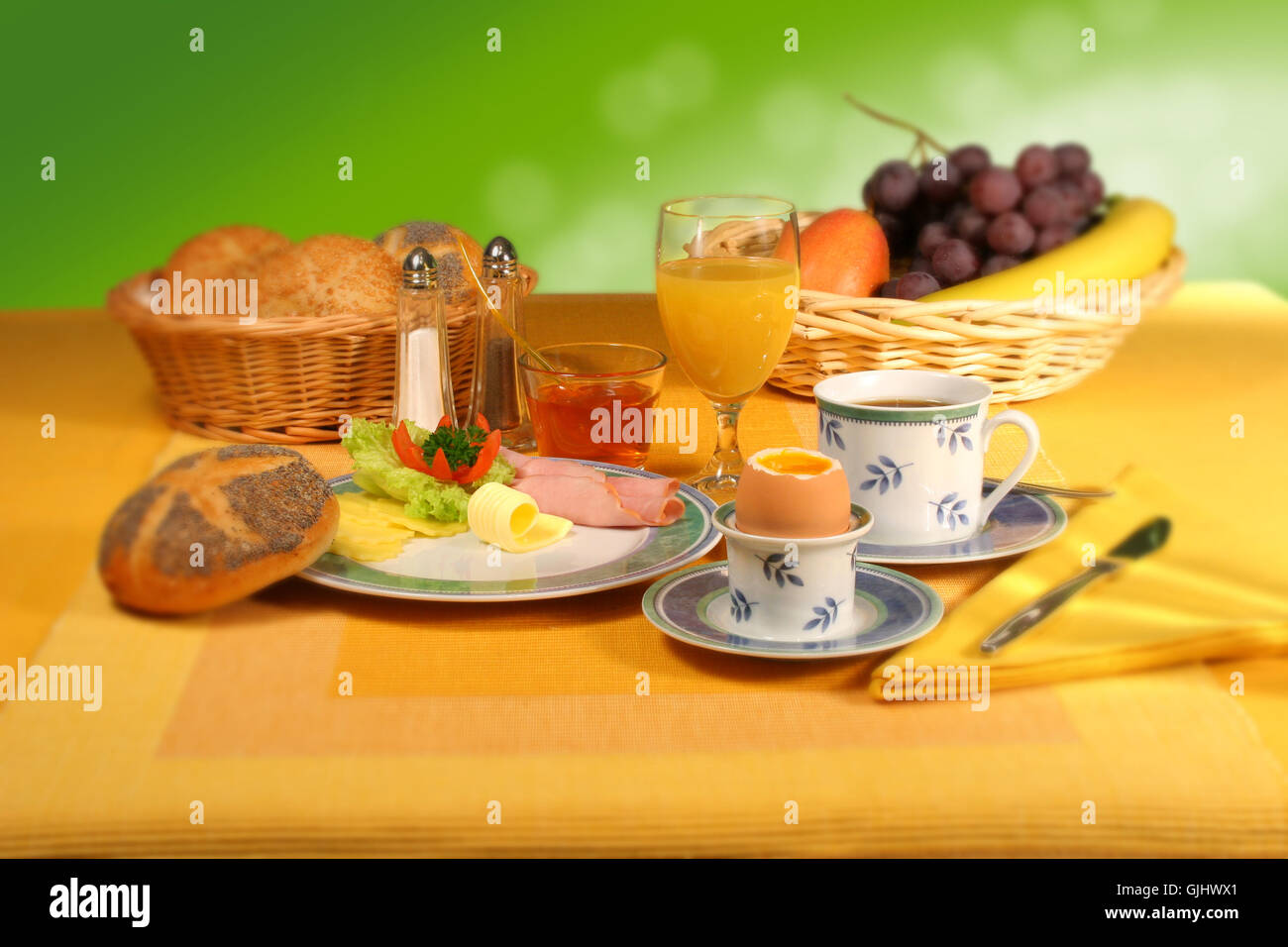 food breakfeast breakfast - Stock Image
