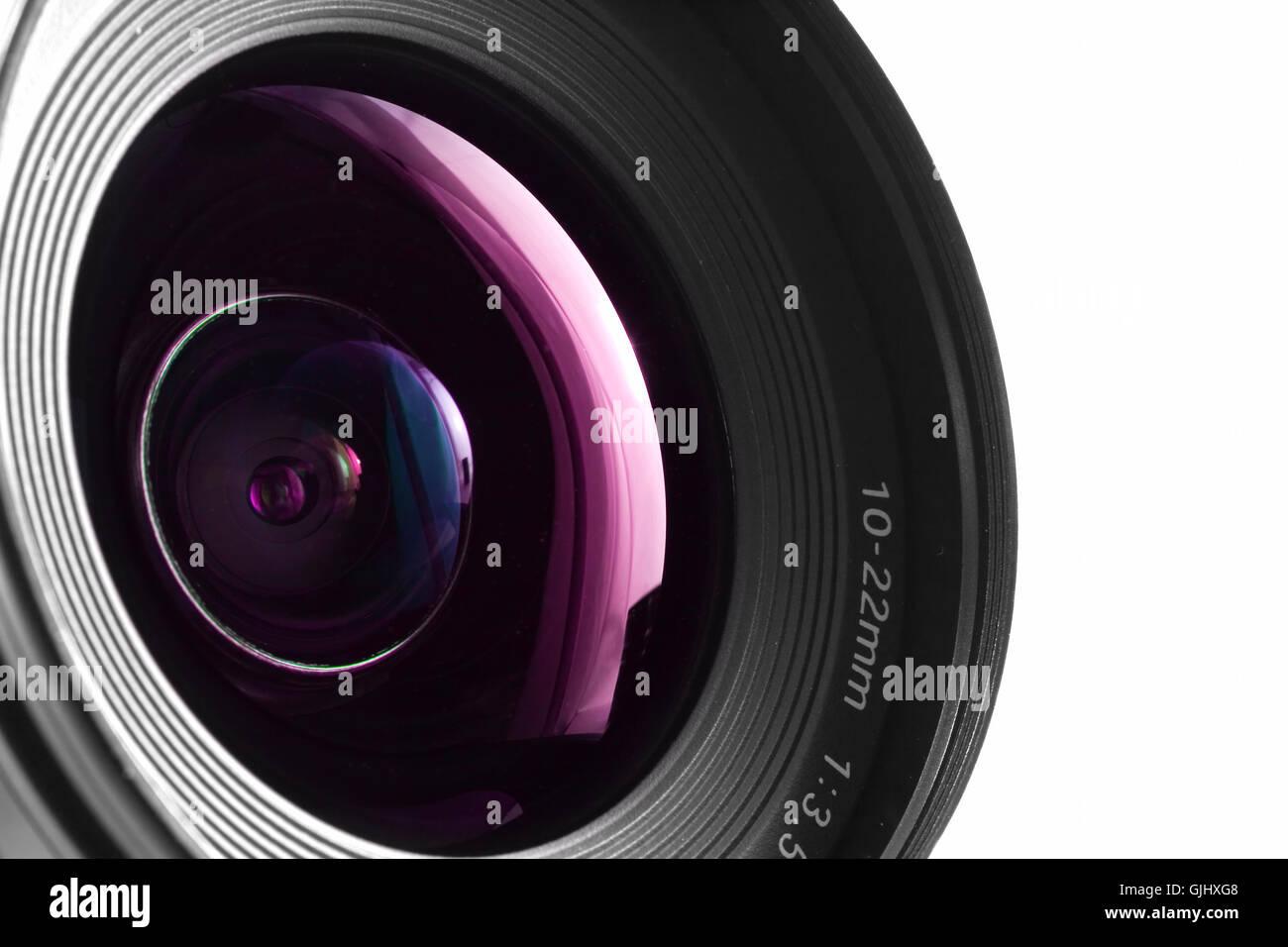 digital lenses optical - Stock Image