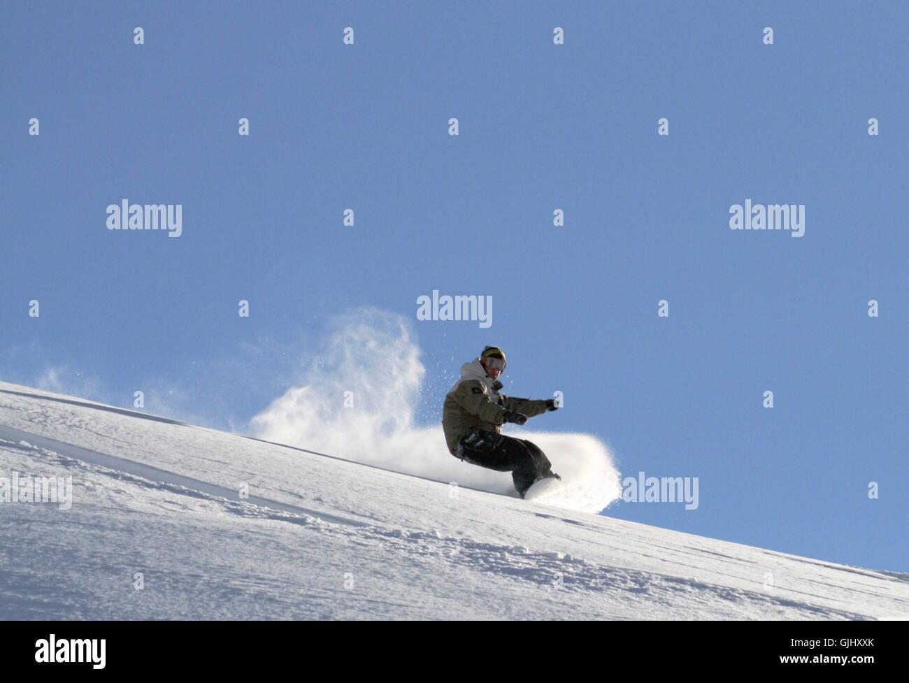 freeride - Stock Image