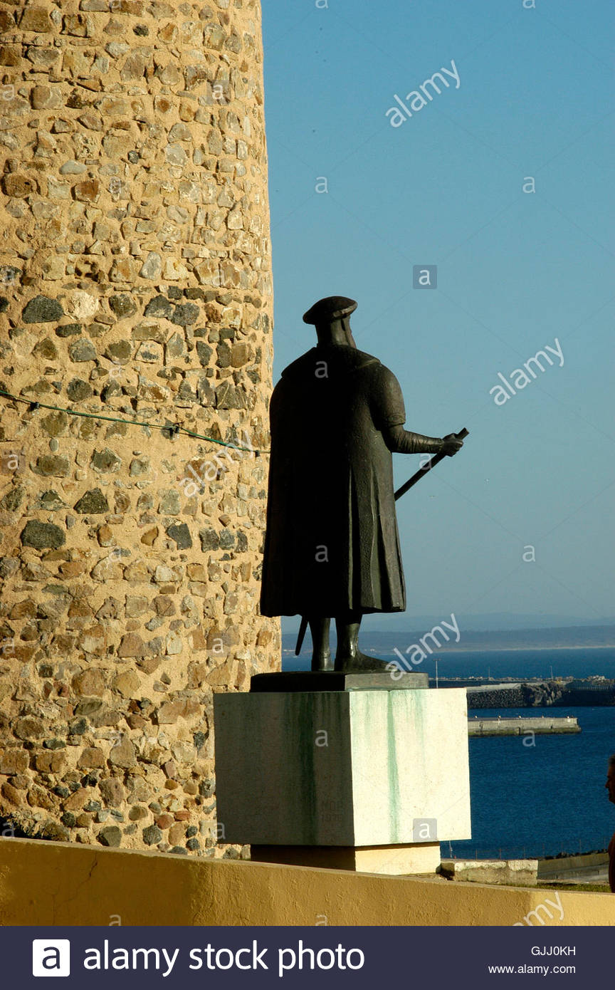 monument portugal discoverer - Stock Image