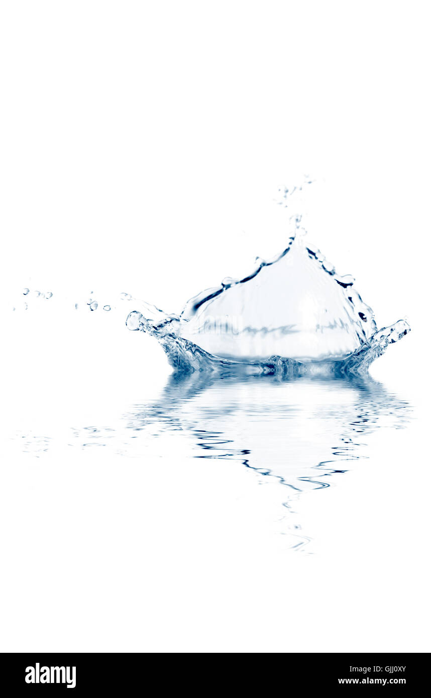 raindrop strength force - Stock Image