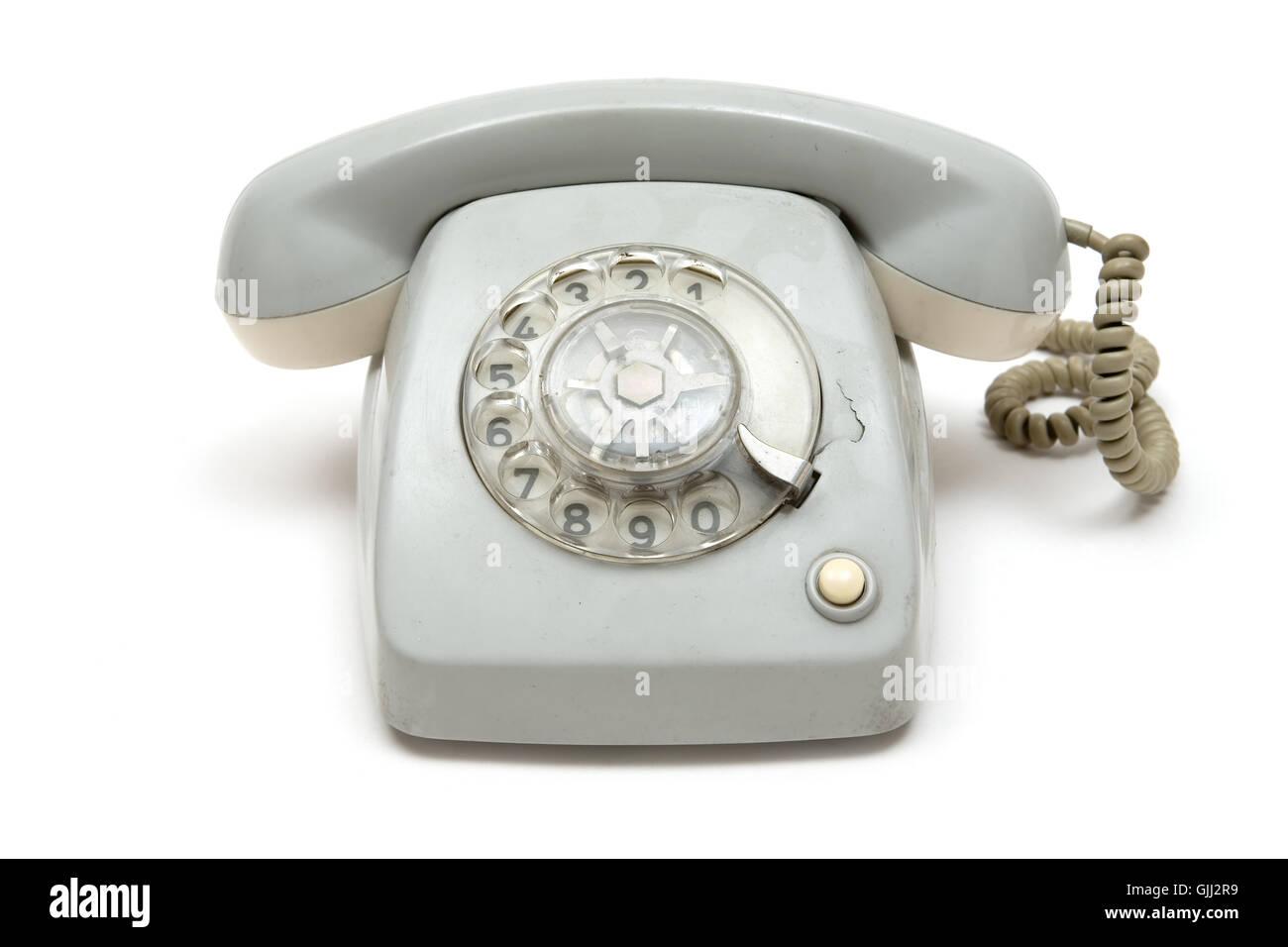analog phone - Stock Image