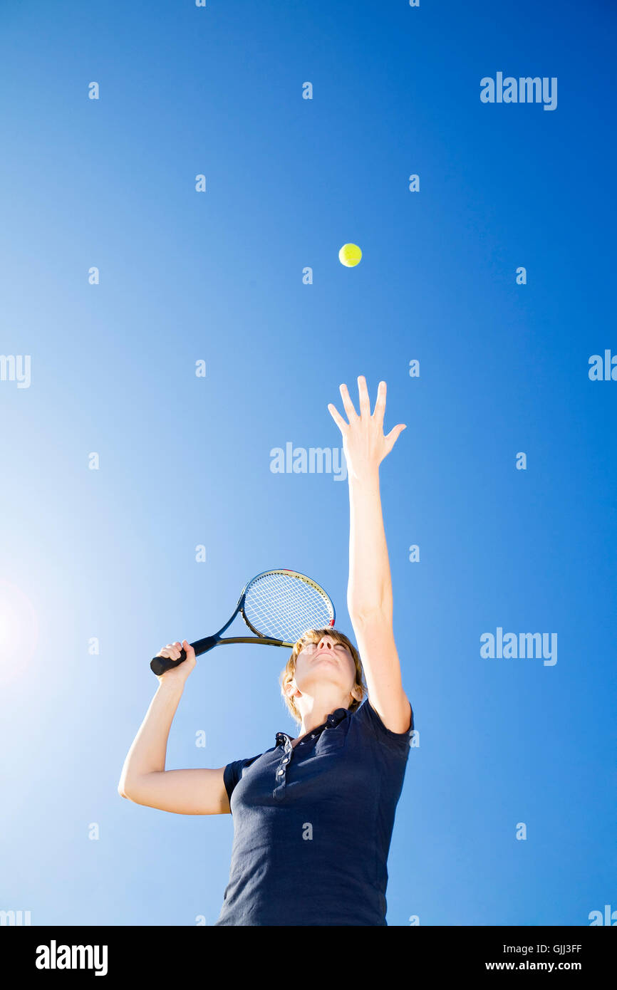 woman sport sports Stock Photo